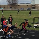 Jr High Boys Track Takes Second, Girls Finish Third