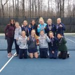 Girls Tennis Wins Whitehall Quad