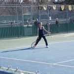 Tennis Crushes Ludington