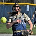Softball Sweeps Gaylord on Parents Night