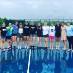Tennis Finishes 8th at State Finals