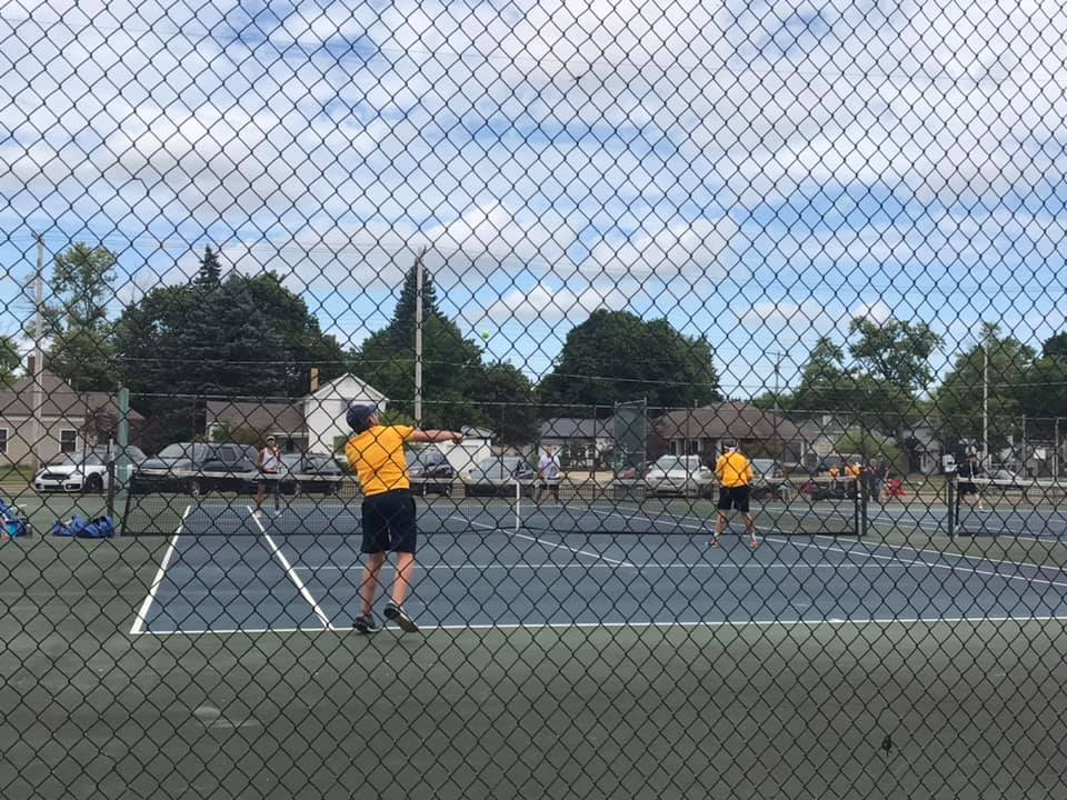 Tennis Team Takes Second in First Home Invite