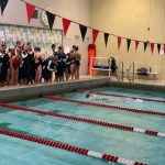 New Swim Team Competes in First Meet