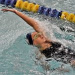Swim Team Competes Against Manistee