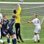 Soccer Falls in BNC Finale, Looks Ahead to Districts