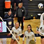 Volleyball Squeaks Out Win Over Petoskey