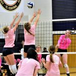 Cadillac Beats Alpena while Raising Money for Breast Cancer Awareness