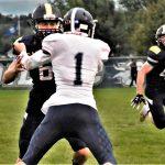 Varsity Football Tops Ionia 49-35