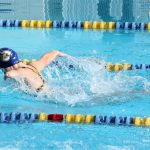 Swim Team Finishes Fifth at Coastal Conference Finals