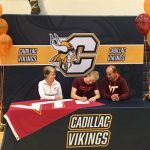 Abraham Apfel Signs Letter of Intent with Virginia Tech