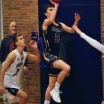 Boys Basketball Tops Gaylord in First Conference Game