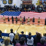 Girls Basketball Tops Gaylord in Salute to Service Game
