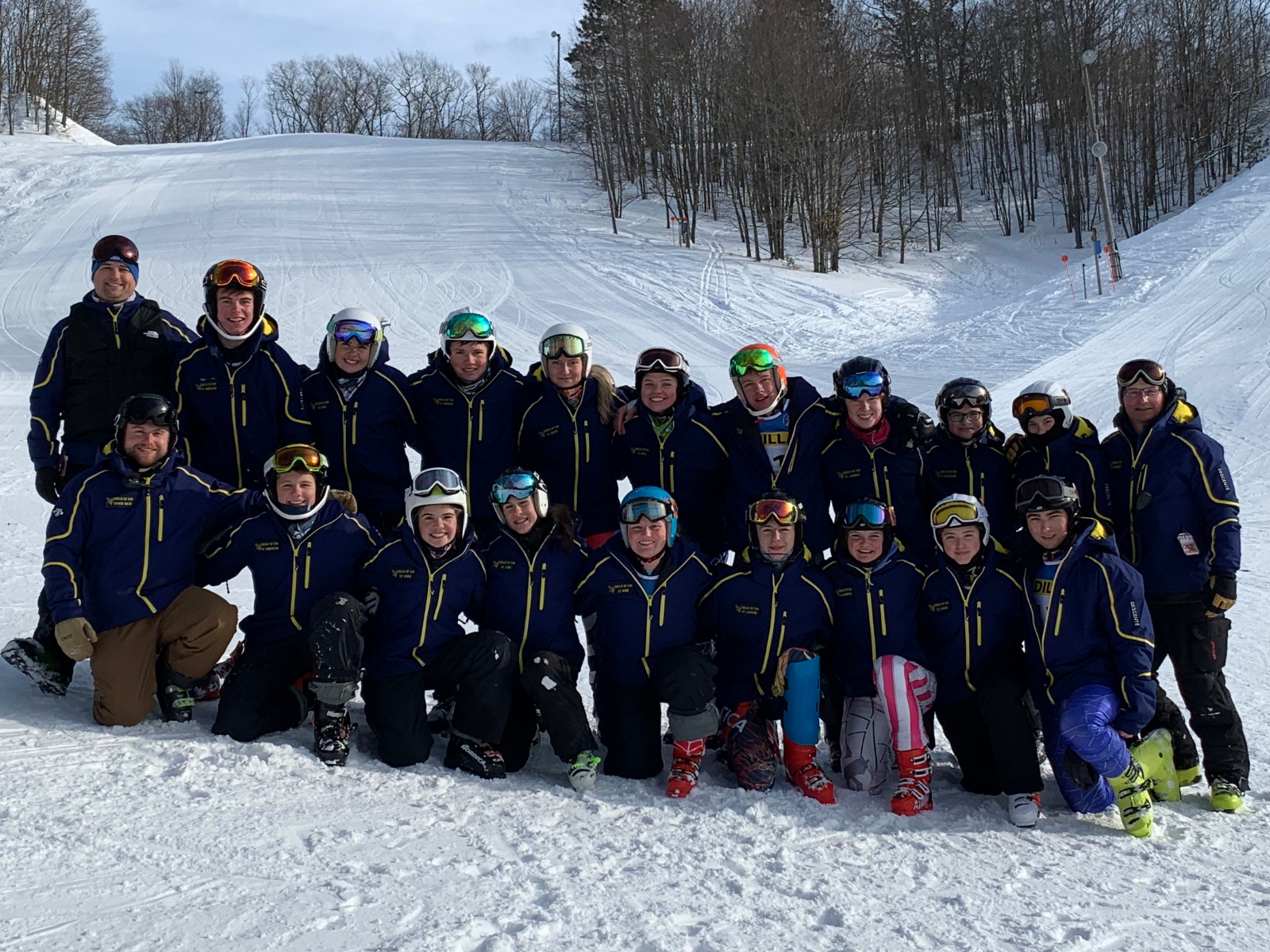 Ski Teams Place Sixth in Division 2 State Finals