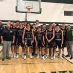 Boys Basketball Clinches Share of Conference Title