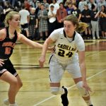 Girls Basketball Slips by Ludington to Advance in Districts