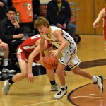 Boys Basketball Cruises Past Benzie Huskies