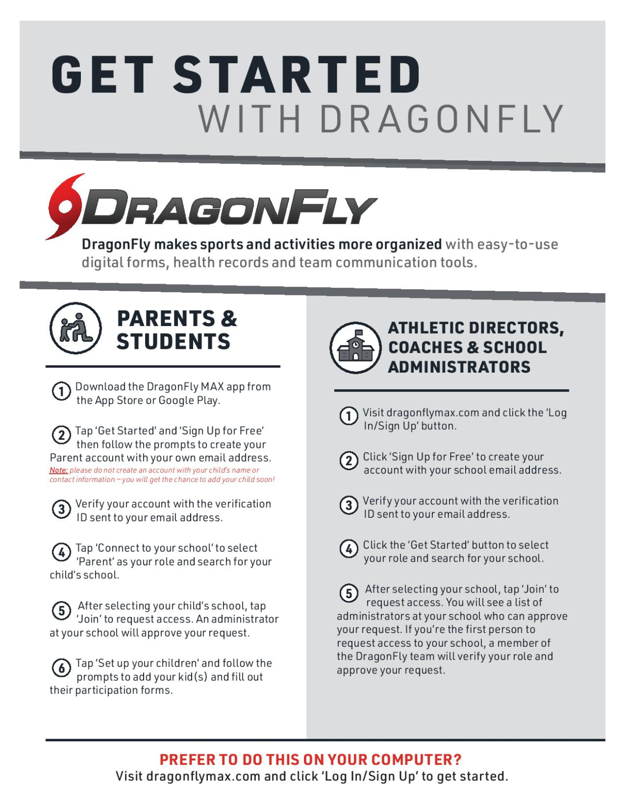 Introducing DragonFly Max – Sign Up