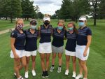 Girls Golf Team Places Second at Grayling Invite