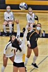 Volleyball Scores Win Over Gaylord