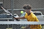 Varsity Tennis Ties Fremont in Final Home Match