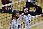 Volleyball Sweeps TC Central on Parents Night