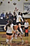 Volleyball Sweeps Big Rapids to Advance to District Finals