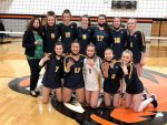 Volleyball Battles Back to Advance to Semifinals in Battle Creek