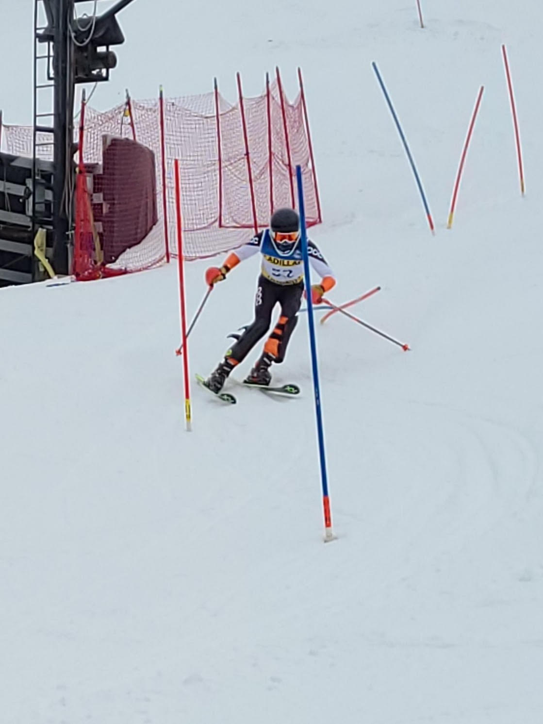 Ski Team Tops Clare in Annual Dual