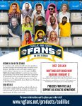 "Custom Cadillac Viking ""Fans in the Stands"" – Order Today!"