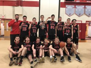 Cutting the Nets: 2018 Boys Basketball Sectional Champs (Photo Gallery)