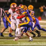 Danburg: Boys Varsity Football Red Hot, Beats Brooklyn 48-7