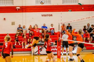 9/19 Volleyball vs. Bay (photo credit: Pat Gallagher/Captains Images)