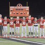 2019-2020 Warrior Football Seniors