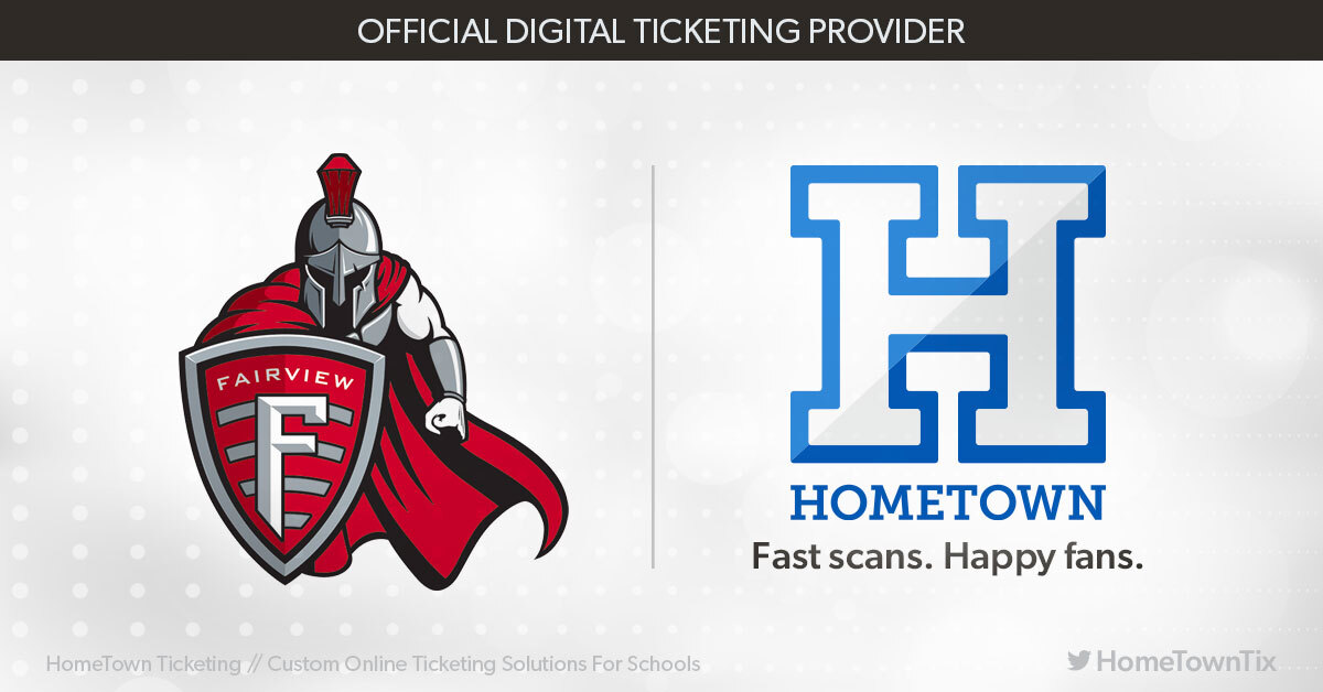 Fairview Athletics Partnering with Hometown Ticketing Beginning Fall 2020