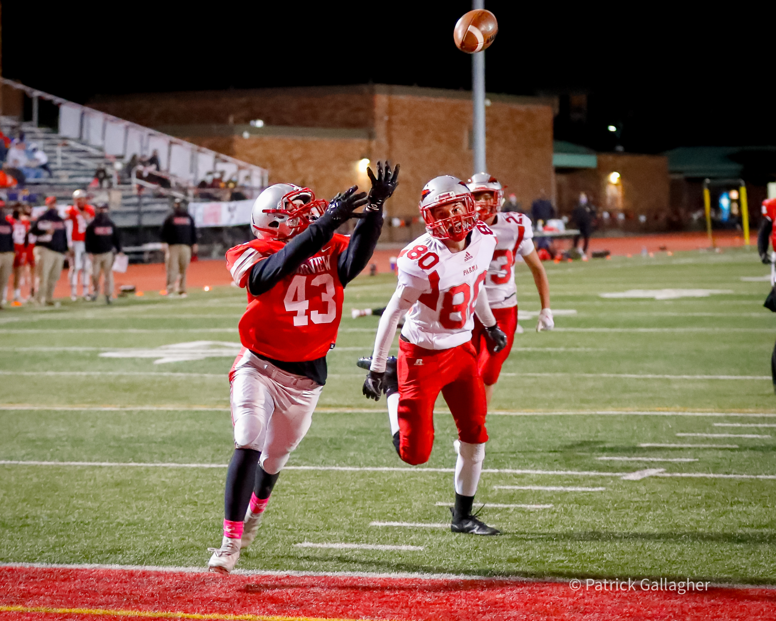 Varsity Football Gallery – 9/18 vs. Parma (Courtesy: Pat Gallagher)
