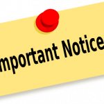 Important Information – Current 5th and 6th Grade Students