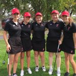 Holland High School Girls Varsity Golf finishes 5th place
