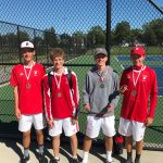 Boys Varsity Tennis finishes 2nd place at Holland Quad #3