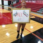 Grigg Sets School Record