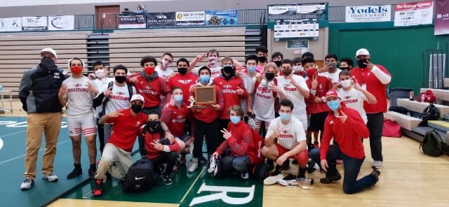 HHS Wrestling Wins 2021 OK Green Conference Championship!