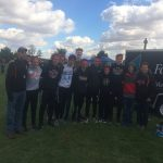 CC boys qualify for Regionals! Tanner Delk places 2nd overall!