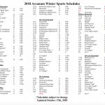 OHSAA Winter Sports Mandatory Parent/Player Meeting Nov. 5th @7:00pm