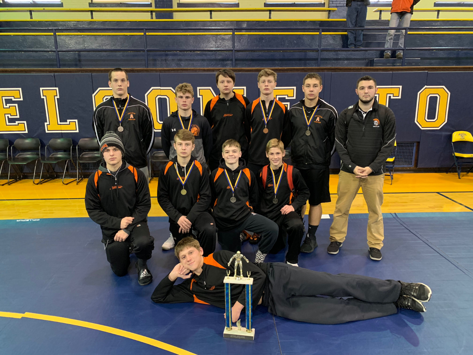 Trojan Wrestlers Place 2nd at Oakwood Invitational!