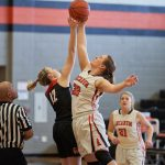 West Milton vs Arcanum Girls Basketball Game