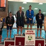 Trojan Swimmer Isabella Gable at the OHSAA State Championships!