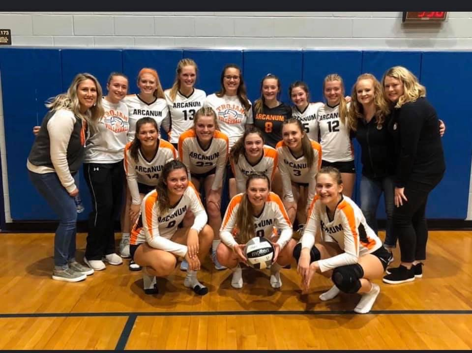 Lady Trojans Defeat State Ranked Northeastern to Advance to Districts