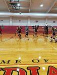 Girls 7th Grade Volleyball beats Newton 2 – 1