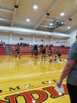 Girls 8th Grade Volleyball beats Newton 2 – 0