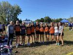 Girls Varsity Cross Country finishes 1st place at Covington Invitational