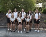 Girls Varsity Golf finishes 6th place at the CCC Golf Tournament